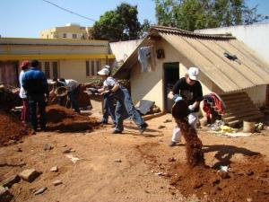 Habitat for Humanity, India Build